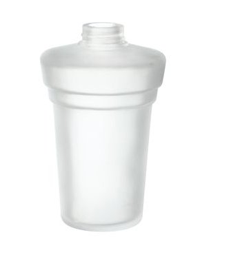 Smedbo Xtra Spare Frosted Glass Soap Container (N3351)
