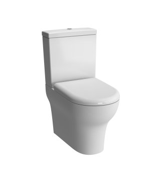 Vitra Zentrum Close Coupled Back to Wall WC with Cistern