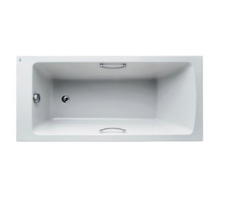 Ideal Standard Tempo Arc Idealform Plus+ 150 x 70cm Bath with Grips