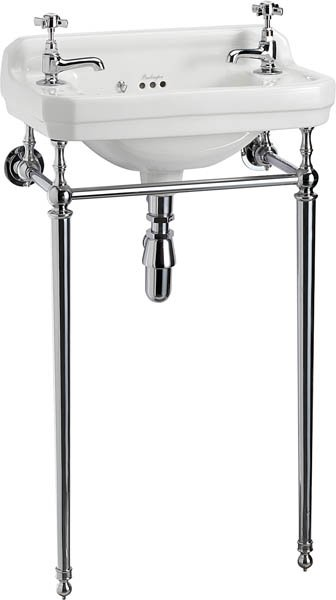 Burlington Edwardian Cloakroom 51cm Basin and Wash Stand