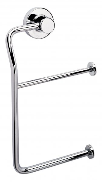 Bathroom Origins Tecno project Double Toilet Roll Holder - Chrome