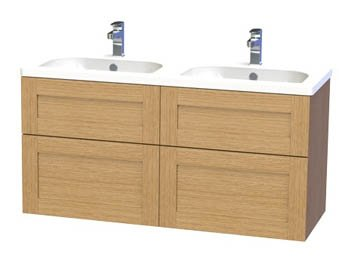 Miller London 120 Vanity unit with 4 drawers