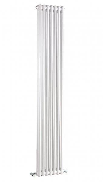 Bayswater Nelson Double 1800 x 335mm White Radiator