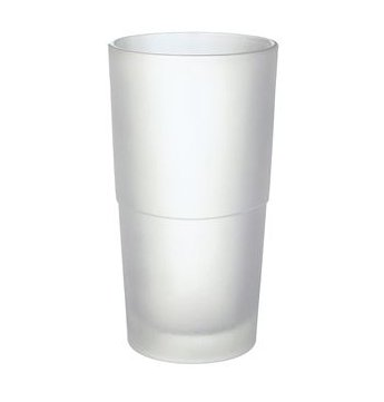 Smedbo Xtra Spare Frosted Glass Container