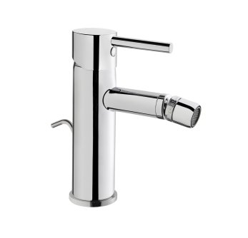 Vitra Minimax S Bidet Mixer with Pop Up Waste