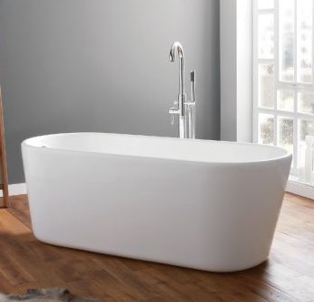 April Brearton Freestanding Bath