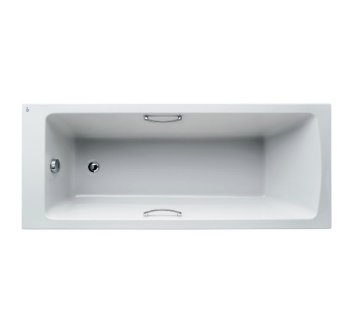 Ideal Standard Tempo Water Saving Arc 170 x 70cm Bath with Grips