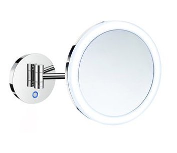 Smedbo Outline Shaving/Make-up Mirror with LED-technology (Stock Clearance)