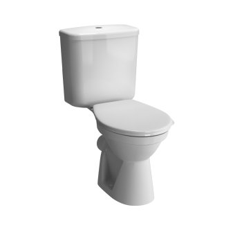Vitra Commercial Milton Open Back Close Coupled WC Pan