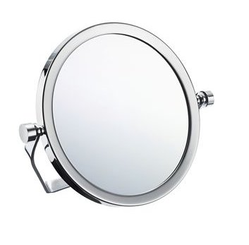 Smedbo Outline Travel Shaving / Make-up Mirror with Swivel Stand