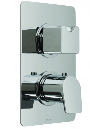 Vado Photon Concealed 2 Outlet Thermostatic Shower Valve with Diverter