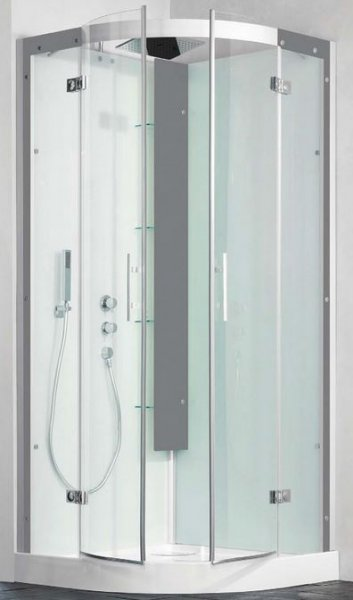 Kinedo Horizon 900 x 900mm Quadrant Slider Shower Cubicle