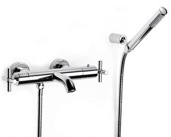 Roca Loft Wall Mounted Thermo Bath Shower Mixer