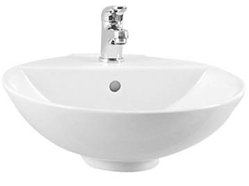 Vitra 45cm Basin with Overflow