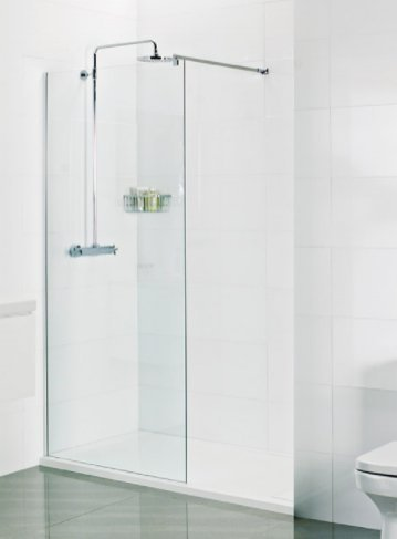 Roman Select 10mm 1200mm Wetroom Linear Panel