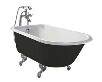 Heritage Wessex Freestanding Cast Iron Roll Top Bath