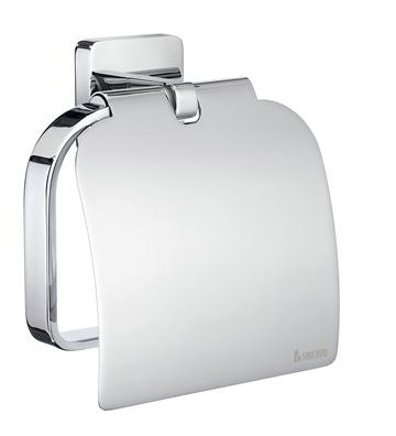Smedbo Ice Toilet Roll Holder and Cover