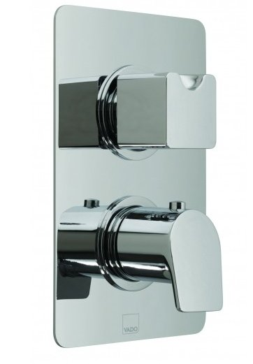 Vado Photon Concealed 3 Outlet Thermostatic Shower Valve with Diverter