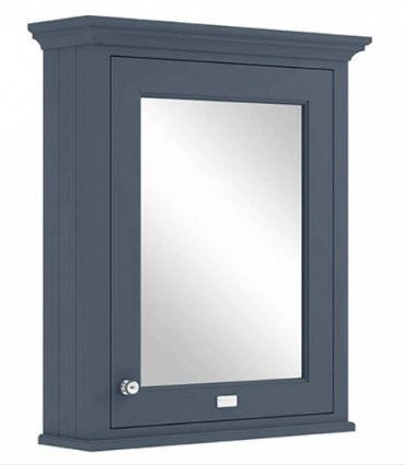 Bayswater 600mm Stiffkey Blue Mirror Wall Cabinet