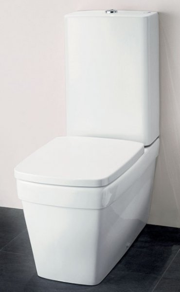 Silverdale Henley Close Coupled WC with Shrouded Cistern