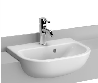 Vitra S20 45 x 44cm Semi Recessed Basin