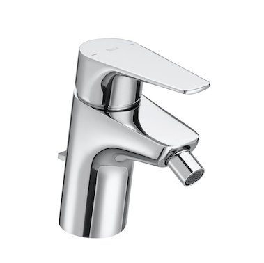 Roca Atlas Bidet Mixer with Pop-up Waste