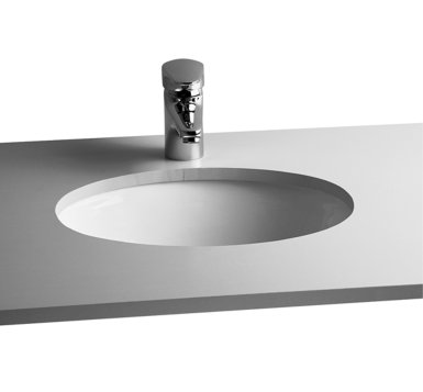 Vitra S20 42cm Oval Under Counter Basin