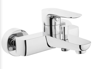 Vitra X Line Bath Shower Mixer with Handshower