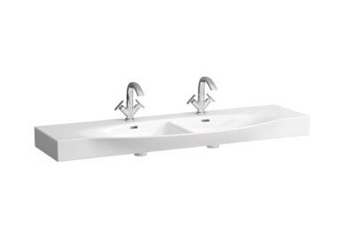Laufen Palace Double Countertop Basin