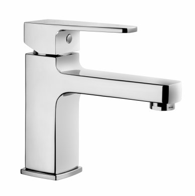 Vitra Q-Line Basin Mixer with Pop Up Waste