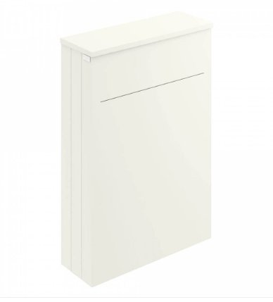 Bayswater 550mm Pointing White WC Cabinet