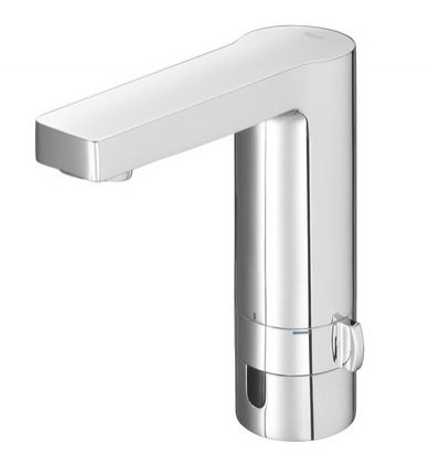Roca L90-E Electronic Basin Mixer with Pop Up Waste