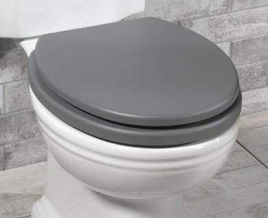 Silverdale Wooden WC Toilet Seat & Cover