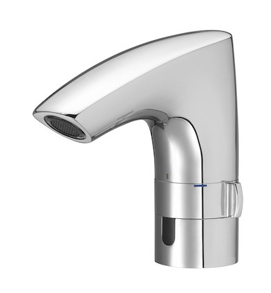 Roca M3-E Electronic Basin Mixer with Pop-up Waste (Battery Operated)