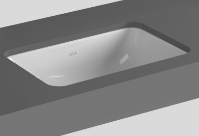 Vitra S20 38cm Oval Under Counter Basin