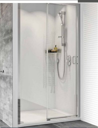 Roman Showers Haven Level Access Sliding Shower Door - 1200mm Wide - Right Handed