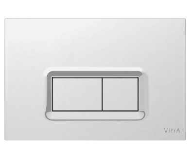 Vitra Chrome Plated Loop R Panel Flush Plate