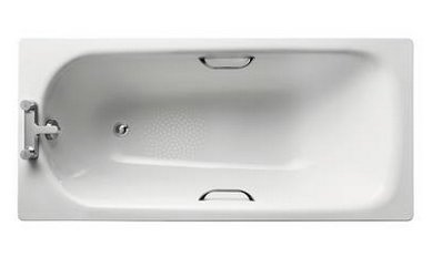 Ideal Standard Simplicity 150 x 70cm Steel Bath with Chrome Plated Grips
