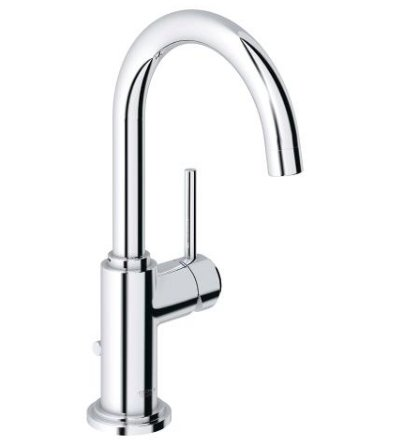 Grohe Atrio One Basin Mixer with pop-up Waste