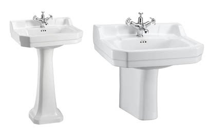 Burlington Edwardian 56cm Basin
