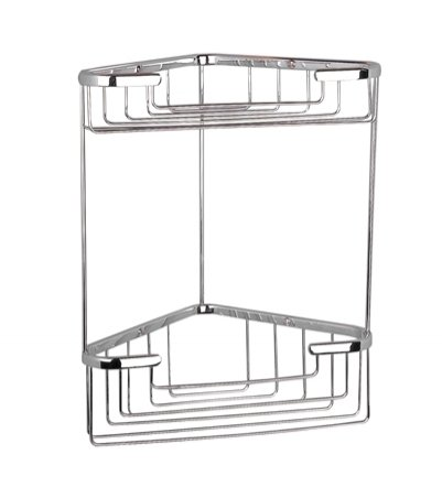Miller Classic Tall Two Tier Corner Basket