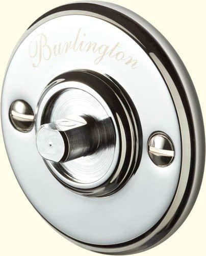 Burlington Chrome Accessory Back Plate