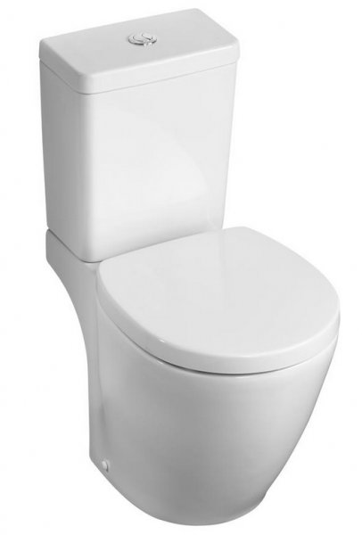 Ideal Standard Concept Space Compact Close Coupled WC