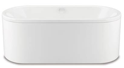 Kaldewei Centro Duo Oval 1700 x 750mm Bath with Moulded Panel ...