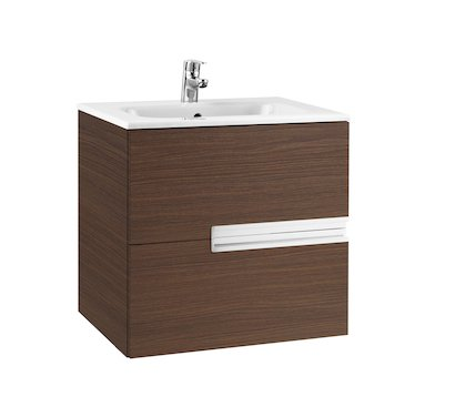 Roca Victoria-N UNIK Square Basin and Furniture 600mm (2 Drawers)
