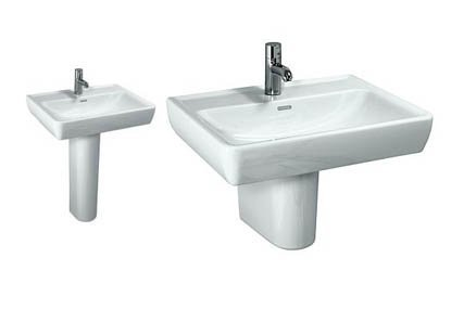Laufen Pro 850mm Countertop Basin with Optional Rail Stand