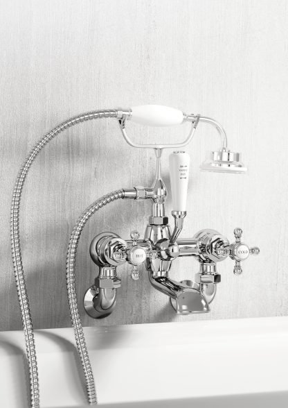 Marflow Ferrada Wall Mounted Bath Shower Mixer