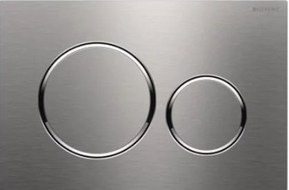 Geberit Sigma 20 Brushed Stainless Steel/Polished/Brushed Dual Flush Plate