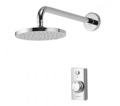 Aqualisa Visage Digital Concealed Shower with Wall Mounted Fixed Head