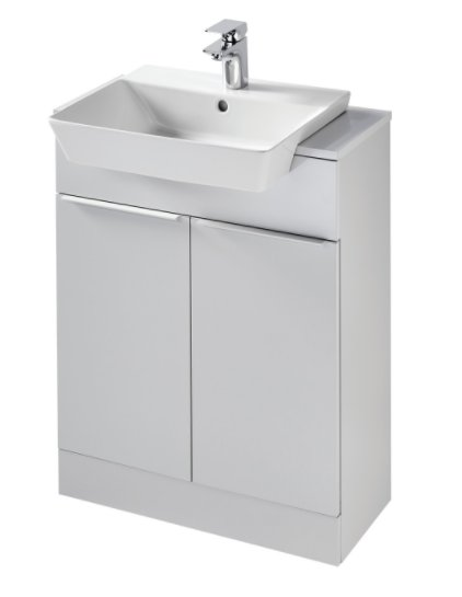 Sottini Mavone 65cm Floor Standing Semi Countertop Basin Unit